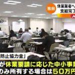 休業者への東京都協力金支給完了わずか2%